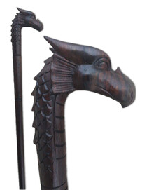 Walking Stick / Dragon with Scales