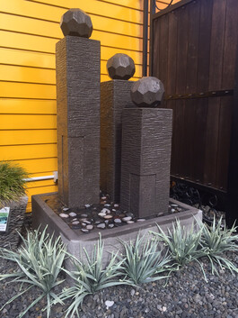Rubix Sphere Water Feature 80cm x 150cm