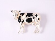 Brooch - Dairy Cow