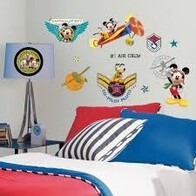 RoomMates Peel and Stick Wall Decals/Mickey Mouse Pilot