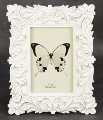 Solid Scroll Photo Frame - Shabby Chic