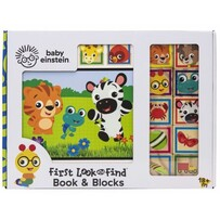 Baby Einstein - First Look & Find Book & Blocks