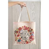 Good people bring out the good in people Tote Bag