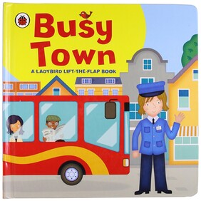 Busy Town - Life the Flap (Hardcover)