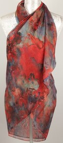 Sarong - Olivia sheer abstract