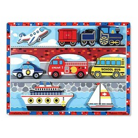 Melissa & Doug - Chunky Puzzle Vehicles