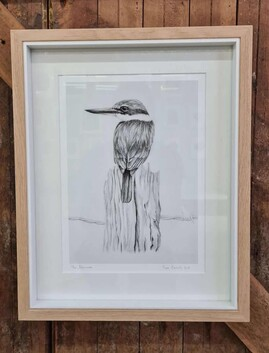 Tara Cassidy - Framed Print - The Fisherman
