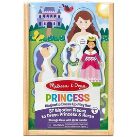 Melissa & Doug  - Magnetic Dress-Up Playset Princess