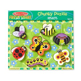Melissa & Doug - Chunky Puzzle Insects