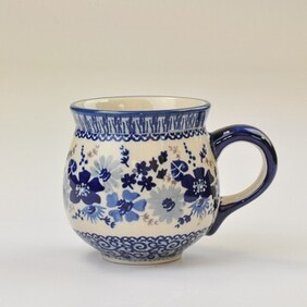 Blue Life - Belly Mug (Med)