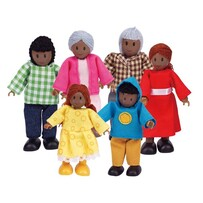 Hape - Happy Family Dolls House People