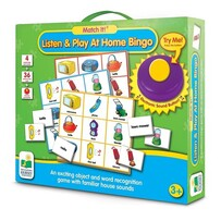 Match It - Listen & Play At Home Bingo