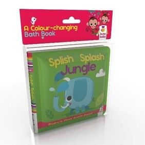 Bath Book - Splish Splash Jungle