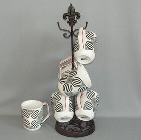 Coffee Mug Tree - 6 hanger