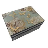 Jewellery Box - Vintage Gold - Single Layer