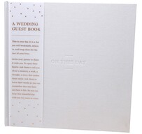 Wedding Guest Book - On This Day