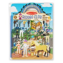 Melissa and Doug - Riding Club Puffy Stickers Album