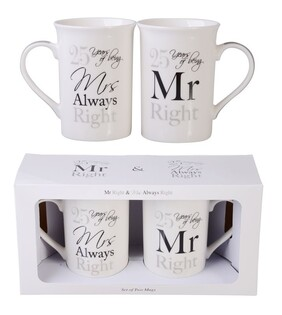 25th Anniversary Mugs