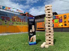 Outdoor Games - Tumble Tower