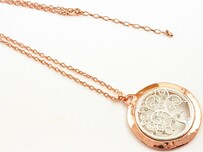 Necklace - Rose Gold & Silver Tree of Life