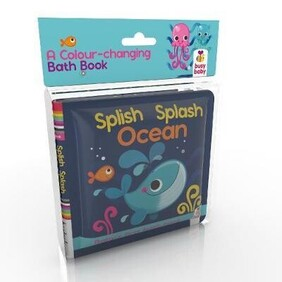 Bath Book - Splish Splash Ocean