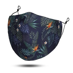 Fashion - Masks - Ocean & Bush Print