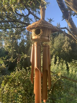 Wind Chime - Bamboo Bird House