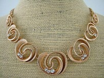 Necklace - Rose Gold Koru