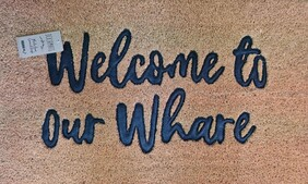 Doormat - Welcome To Our Whare