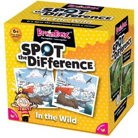 BrainBox - Spot the Difference In The Wild