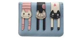 Blue Pussycat Wallet - Small