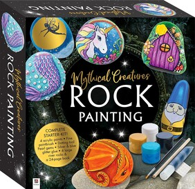 Mythical Creatures Rock Painting