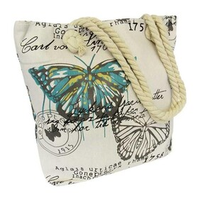 Shoulder Rope Tote Bag / French Papillon