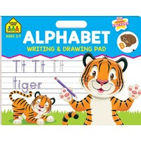 Alphabet - Writing & Drawing Pad