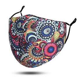 Fashion - Masks - Mandelal Print