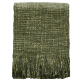 Throw - Warner - Olive