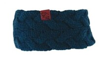 Knitted Headband - Turquoise