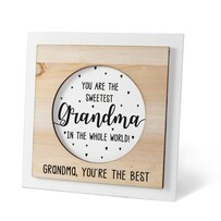 Photo Frame - Sweetest Grandma