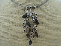 Necklace - MOP Leaf Branch