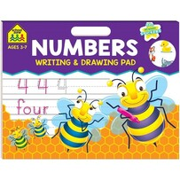 Numbers - Writing & Drawing Pad