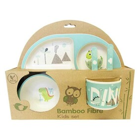 Bamboo Kids 5pce Dinner Set