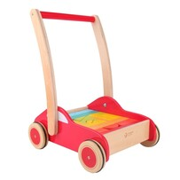 Baby Car Walker with Blocks - Classic World